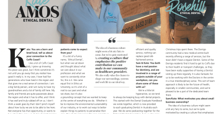 Ethical Dental and Orthodontics Coffs Harbour Focus magazine feature article.
